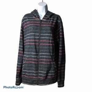 Oakley Full Zip Striped Hoodie